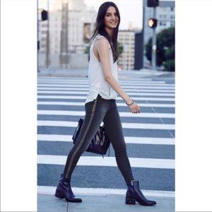 HUDSON Luna Embellish Crop Super Skinny Leg Jeans